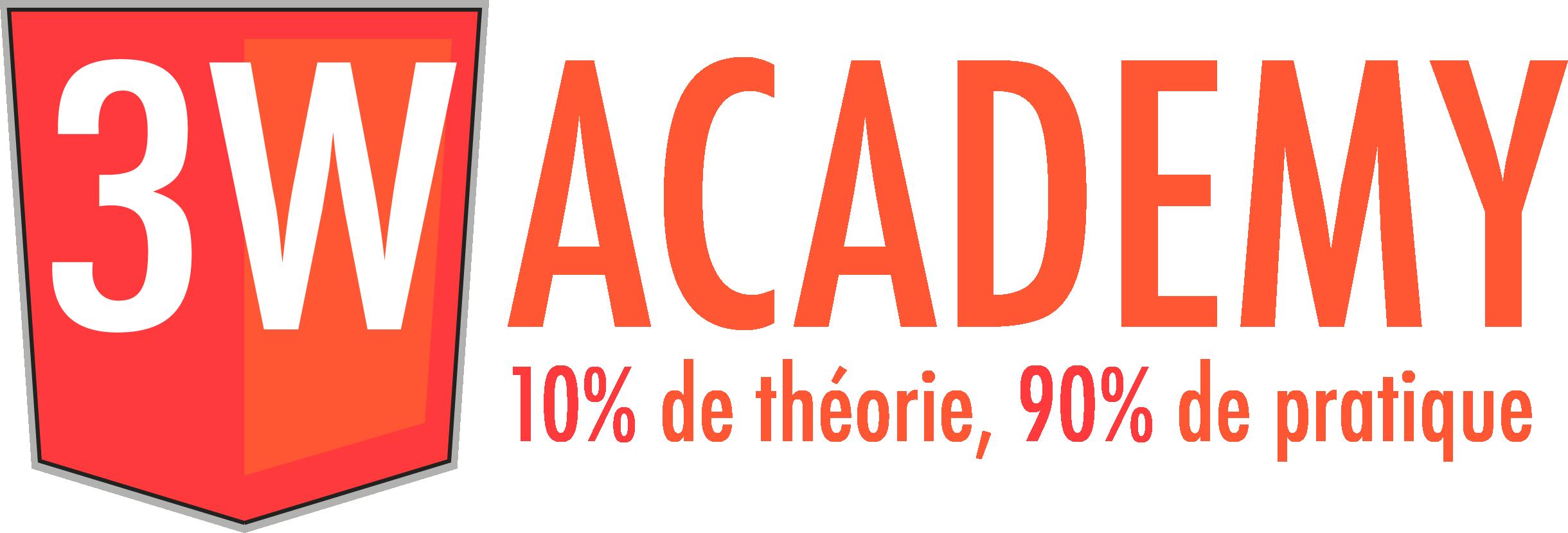 la 3 Academy m'a formé au métier d'intégrateur / developpeur WEB